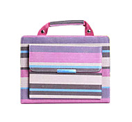 High Quality Stripe Fashion PU Leather Handbag Case for Ipad6/Ipad Air2