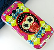 Red cartoon owl Pattern Design Pattern Protective TPU Soft Case for Samsung Galaxy Grand Neo I9060
