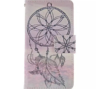 Campanula  Pattern PU Leather Phone Case For  Sony Xperia E1