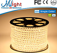 Mlight 1 Meter 72 leds/m 5050 SMD Warm White/White Waterproof/Cuttable 9 W Flexible LED Light Strips AC110-220 V