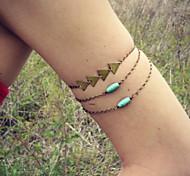 Fashion Turquoise Triangle Vintage Arm Chain