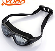 YOBO Unisex Anti-Fog/Adjustable Size/Anti-UV/Anti-slip Black Swimming Goggles