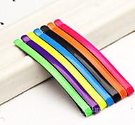 Practical Fluorescent Color Wave Noodles Hairpin Headdress
