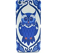 Cute Lovely Owl Pattern Hard Cover Case for iPhone 5C