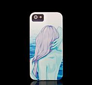 beleza cobertura padrão para o caso do iphone 4 / iphone 4 s caso
