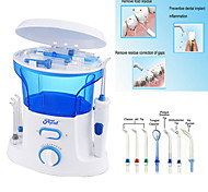 Dental Water Flosser + Quality Oral Irrigator With 7Pcs jet tip & 600ML Water Tank For Dental Hygiene & Tooth