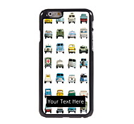 Personalized Gift Lovely Car Design Aluminum Hard Case for iPhone 6 Plus