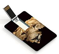 64GB el león y el diseño de la tarjeta USB Flash Drive salto