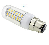 E14 / G9 / GU10 / E12 / B22 7W 48 SMD 5730 600 LM Warm White T LED Corn Lights AC 220-240 V