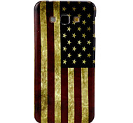National flag Pattern TPU Soft Case for Galaxy A8
