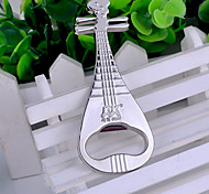 Novelty Lute Shaped Bottle Opener Zinc Alloy Beer Bottle Opener Party Favors