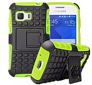 Für Samsung Galaxy Hülle Stoßresistent / mit Halterung Hülle Rückseitenabdeckung Hülle Panzer PC Samsung Young 2 / Grand Prime