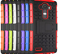 LG G4 Plastic / TPU Full Body Cases / Cases with Stand Special Design case cover