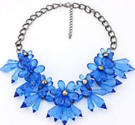 Cusa  Flower Shape Diamond  Necklace