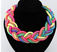 MPL Fashion trend all-match fluorescent color handmade necklace
