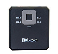 Bluetooth V2.0 Wireless Music Receiver / FM Radio Transmitter