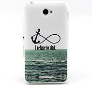 Sea ship anchor Pattern TPU Soft Case for Sony E4