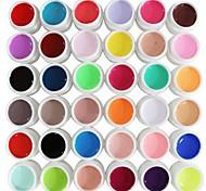 36PCS Mixs Pure Color UV Color Gel(8ml)