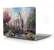 """o castelo sob o design de corpo inteiro do arco-íris caixa de plástico de proteção para 12 """"polegadas do novo MacBook com tela retina"""
