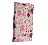 Pink Snail Pattern Full Body Case for Microsoft Lumia 640