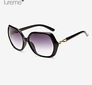 Lureme®Fashion Gradual Change Sunscreen Box Bar Women'S Ultraviolet-Proof Sunglasses