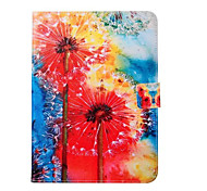 Painted Red Dandelion Stand Tablet PC Case for Galsxy Tab A 9.7/Tab 4 10.1
