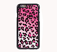 Leopard Print Design Aluminum High Quality Case for iPhone 6 Plus