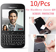 (10 Pcs) High Definition Screen Protector Flim for BlackBerry Classic Q20