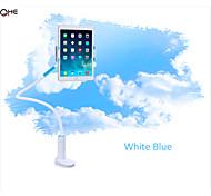 360 degrés de rotation tablette porte stand de lit de comprimés avec 1.2m pôle clip-on chevet bureau paresseux titulaire stand rotatif