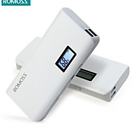 ROMOSS Sense 4 Plus 10400mAh Portable Charger External Battery Pack Power Bank Fast Charging with LCD for Mobile Phone