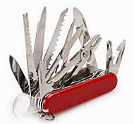 Thermomètre / Couteaux / Multifonctions / Pince / Kit de survie / Ouvre-bouteille/décapsuleur/déboucheur Camping / Voyage / OutdoorMulti