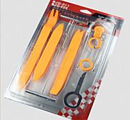 12pcs panel de clip coche automático de puerta de radio rociada la eliminación del ajuste de audio herramienta de palanca instalador