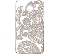 holle bloempatroon pc harde case voor samsung galaxy kern 2 g3558 / g3559 / g355h