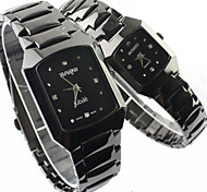 Couple's Watch Fashion Dress Watch Alloy Band