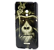 Smoking monkey  Pattern TPU Soft Case for Asus Zenfone 5