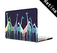 """diseño de jirafa funda protectora de cuerpo completo de 13 """"/ 15"""" macbook-pro con pantalla de retina"""