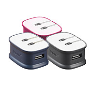 daul osso vojo® usb carregador para iPhone / iPad / smartphones (2100 mAh)
