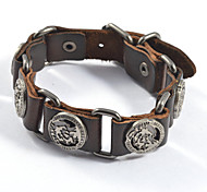 European and American fashion People Rivets Leather Bracelets 1pc