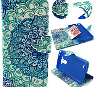 LG G3 Textile / PU Leather / Silicone Full Body Cases / Cases with Stand Special Design case cover