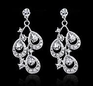 Korean Wedding Bride Jewelry Diamond Crown Necklace Earrings Jewelry Wedding Accessories