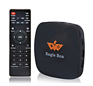 Eagle® Android System Wifi TV Box Support Google Play Store + Remote (TV Game Set Without Controller)