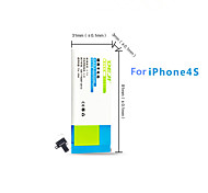 DE JI 1430mAh Replacement Battery for IPhone 4S