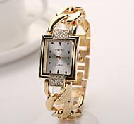 nova banda de ouro marca de relógios de cristal de diamante dos homens de aço chegada relógios para mulheres homens relógios casuais