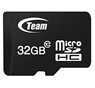 TEAM TF(Micro-SD) Card Class10 (32GB) TUSDH32GCL Memory Card
