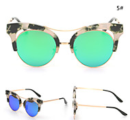 Sunglasses Women's Modern / Fashion Cat-eye Black Sunglasses Full-Rim