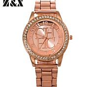 Men's Generous Fashion Contracted Quartz Analog Stainless Steel Wrist Watch(Assorted Colors)