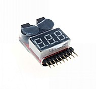 Low Pressure Alarm Lithium Battery Voltage 3-Digit LED Monitor