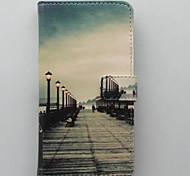 rue portefeuille mobile de cas de téléphone pour les mini i9190 de Samsung