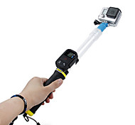 14-24 inch Floating Extension Selfie Monopod with Remote Control Clip for GoPro Hero 3/ 3+ /4 and SJ4000
