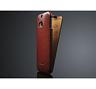 Flip cover high quality leather case for htc one m8